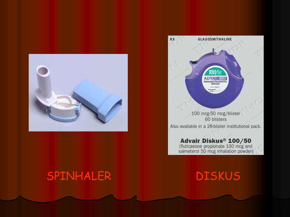 SPINHALER DISKUS