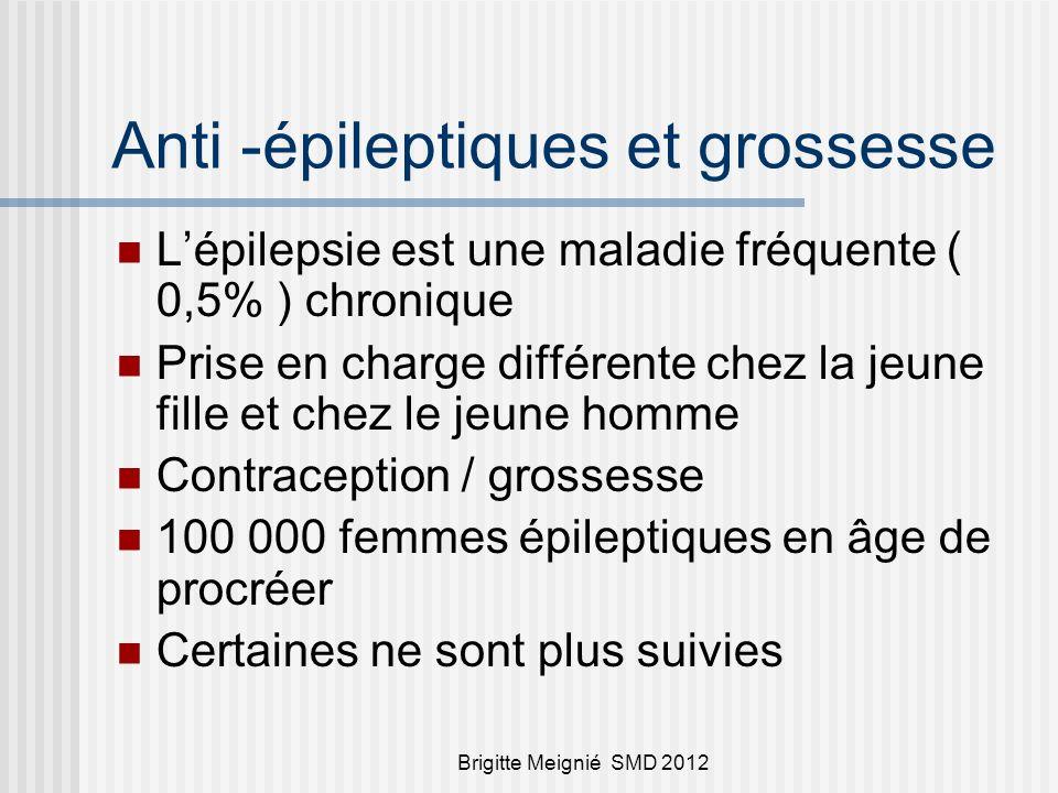 Anti -épileptiques et grossesse