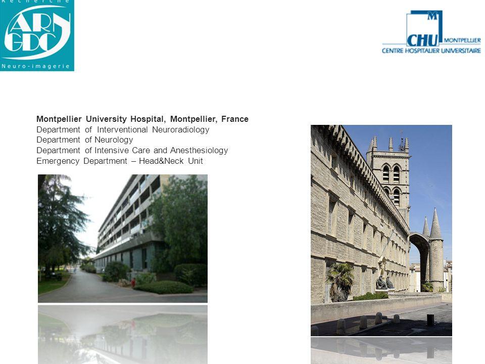 Montpellier University Hospital, Montpellier, France