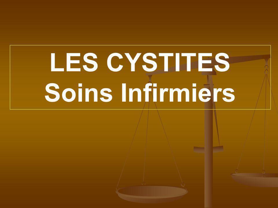 LES CYSTITES Soins Infirmiers