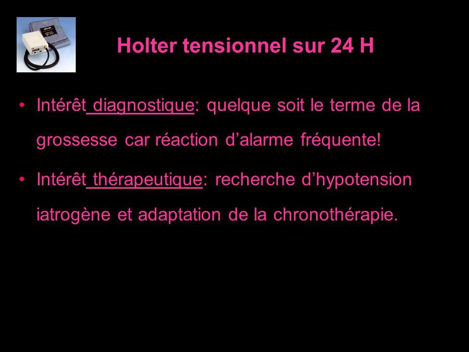 Holter tensionnel sur 24 H