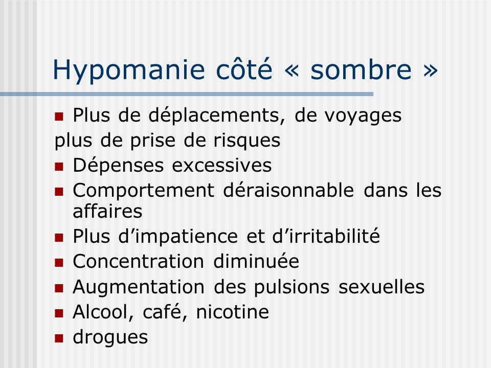 Hypomanie côté « sombre »