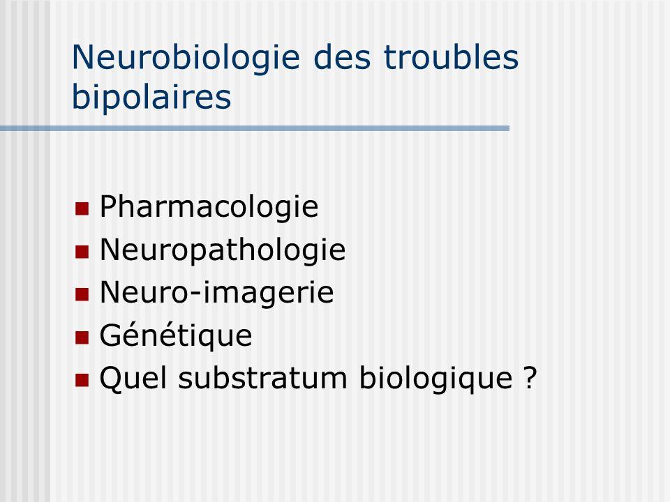 Neurobiologie des troubles bipolaires