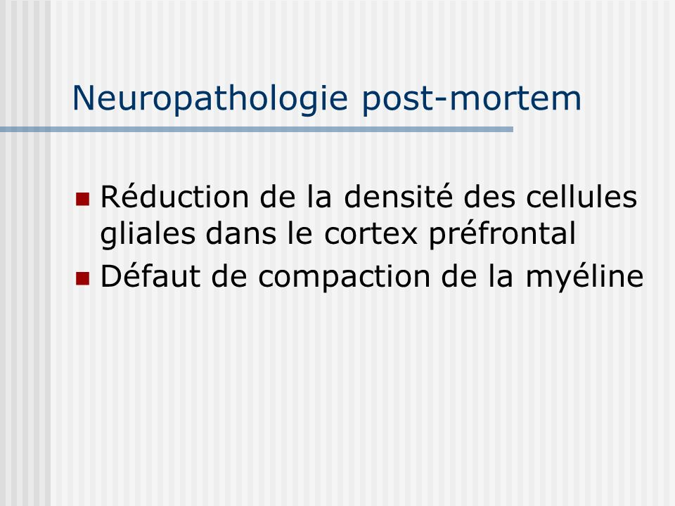 Neuropathologie post-mortem