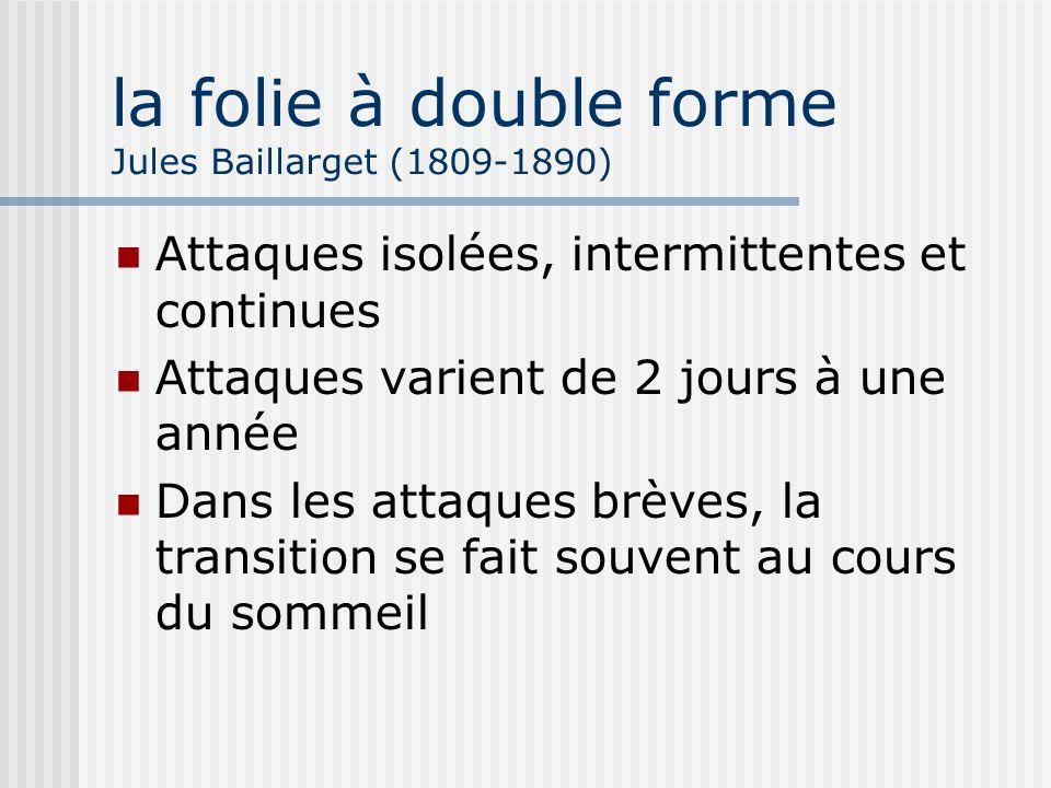 la folie à double forme Jules Baillarget (1809-1890)