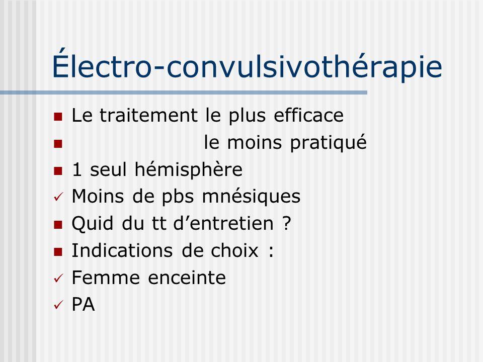 Électro-convulsivothérapie