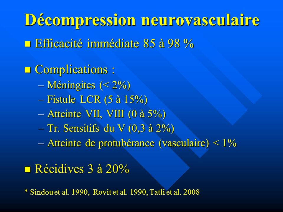 Décompression neurovasculaire