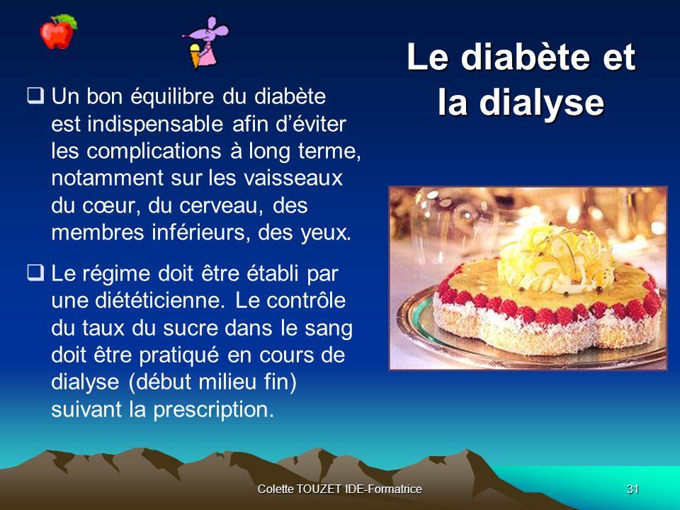 Le diabète et la dialyse