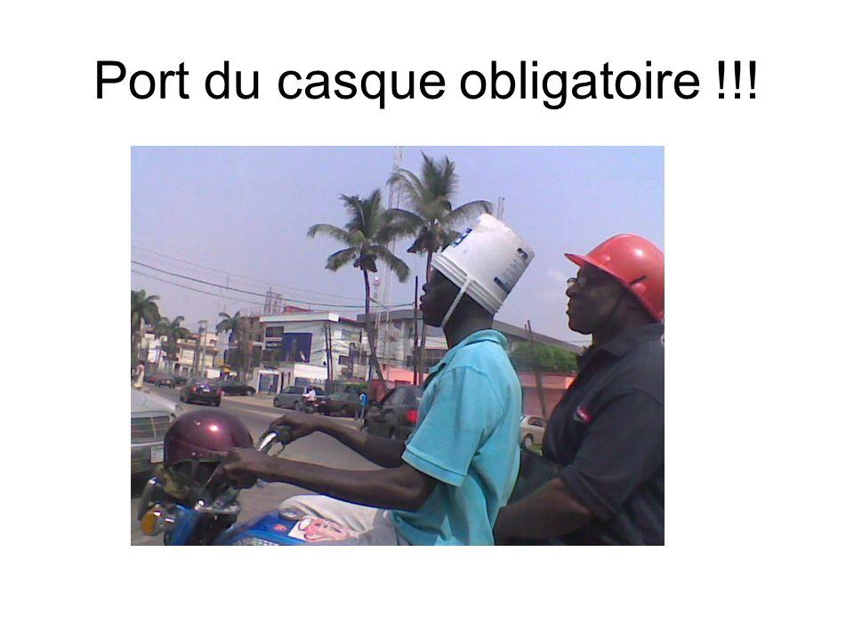 Port du casque obligatoire !!!
