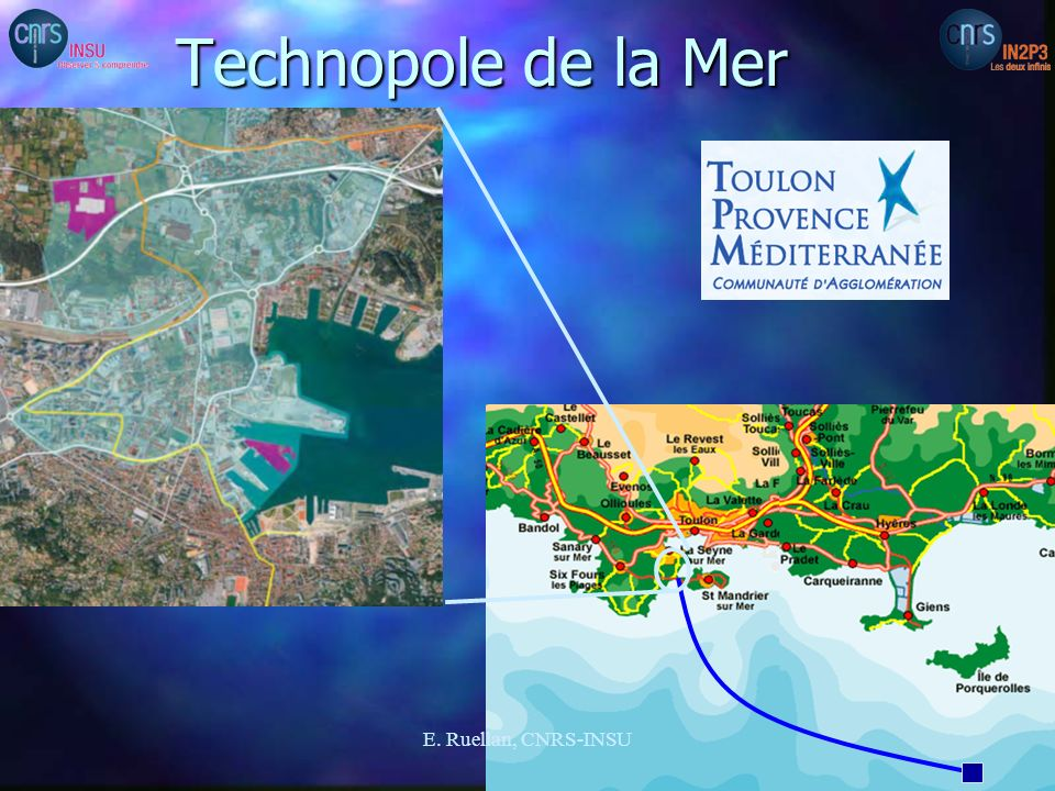 Technopole de la Mer E. Ruellan, CNRS-INSU 4