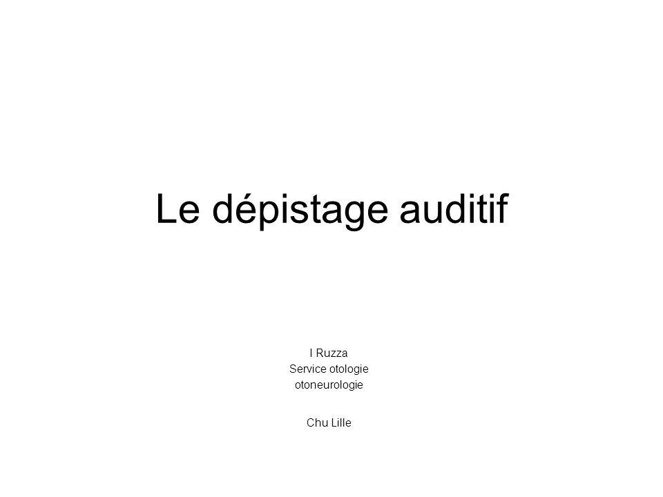 I Ruzza Service otologie otoneurologie Chu Lille