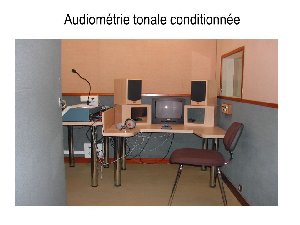 Audiométrie tonale conditionnée
