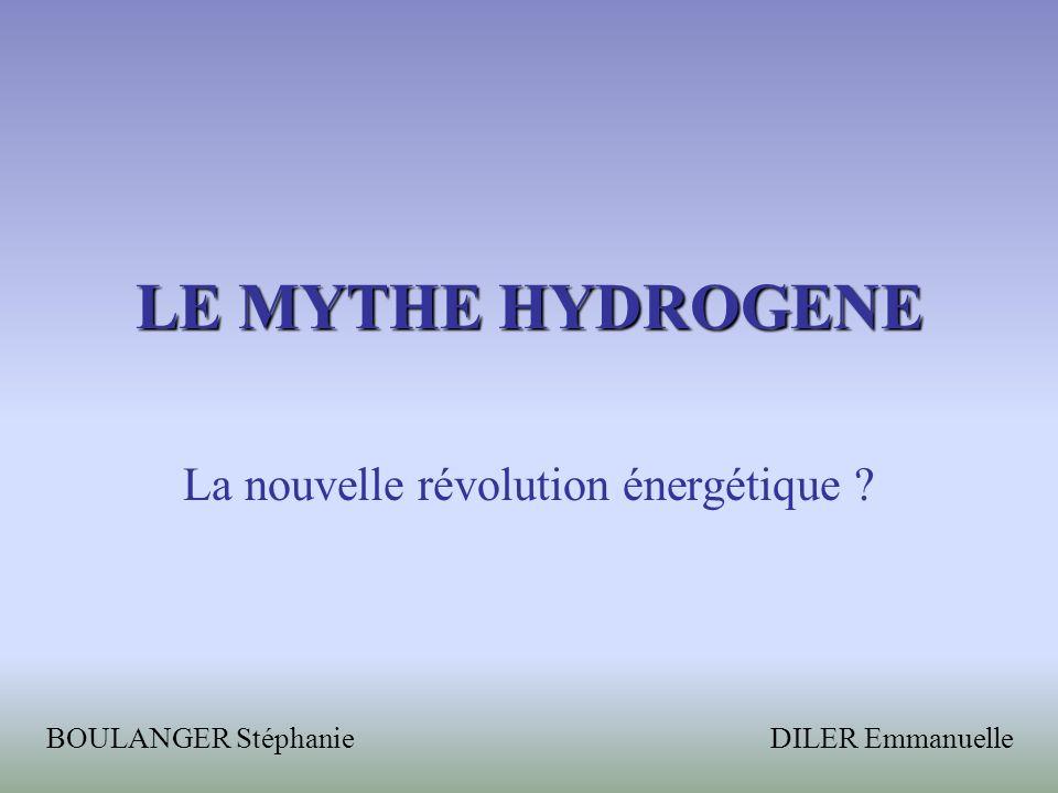 La nouvelle révolution énergétique