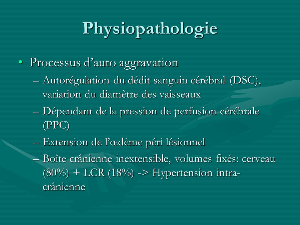 Physiopathologie Processus d'auto aggravation