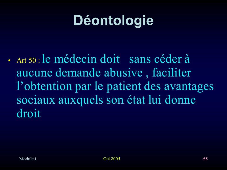 Déontologie