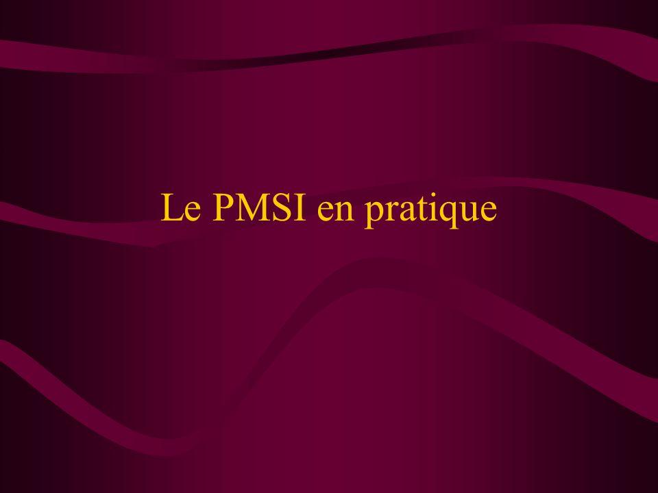 Le PMSI en pratique