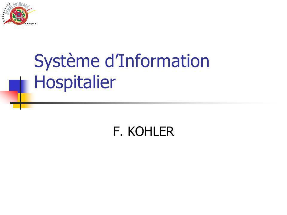 Système d'Information Hospitalier