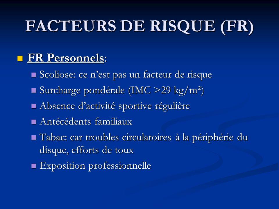 FACTEURS DE RISQUE (FR)