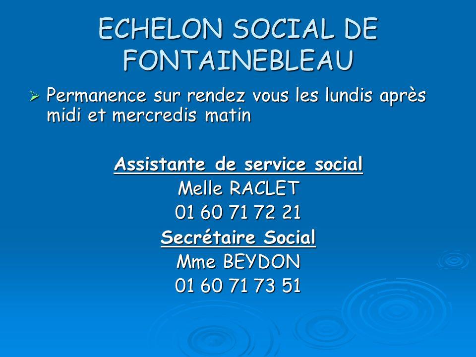 ECHELON SOCIAL DE FONTAINEBLEAU