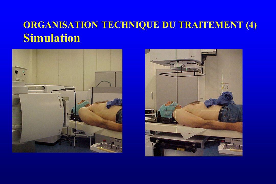 ORGANISATION TECHNIQUE DU TRAITEMENT (4) Simulation