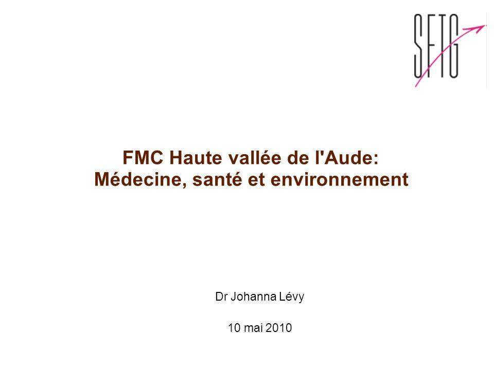 FMC Haute vallée de l Aude: Médecine, santé et environnement