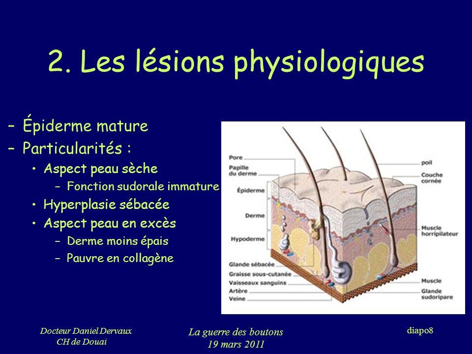 2. Les lésions physiologiques