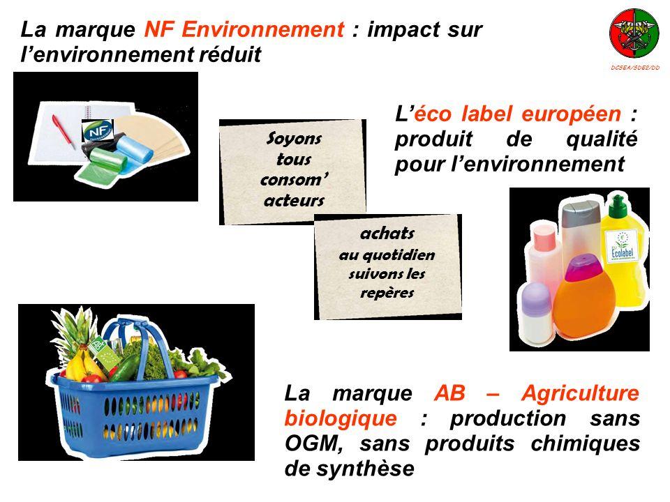 La marque NF Environnement : impact sur l'environnement réduit