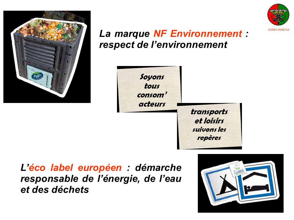 La marque NF Environnement : respect de l'environnement