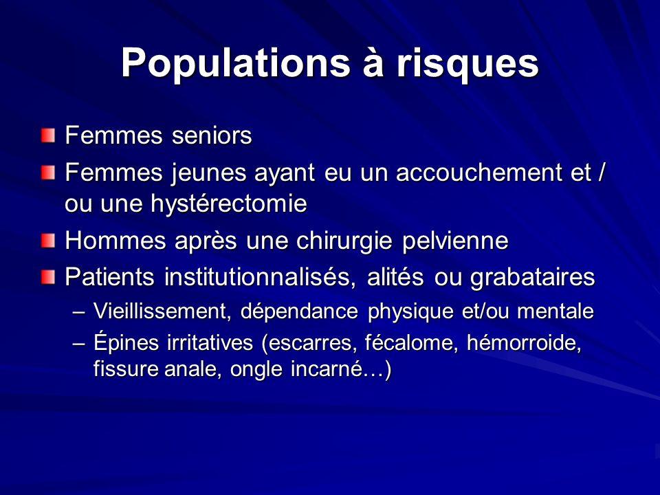 Populations à risques Femmes seniors