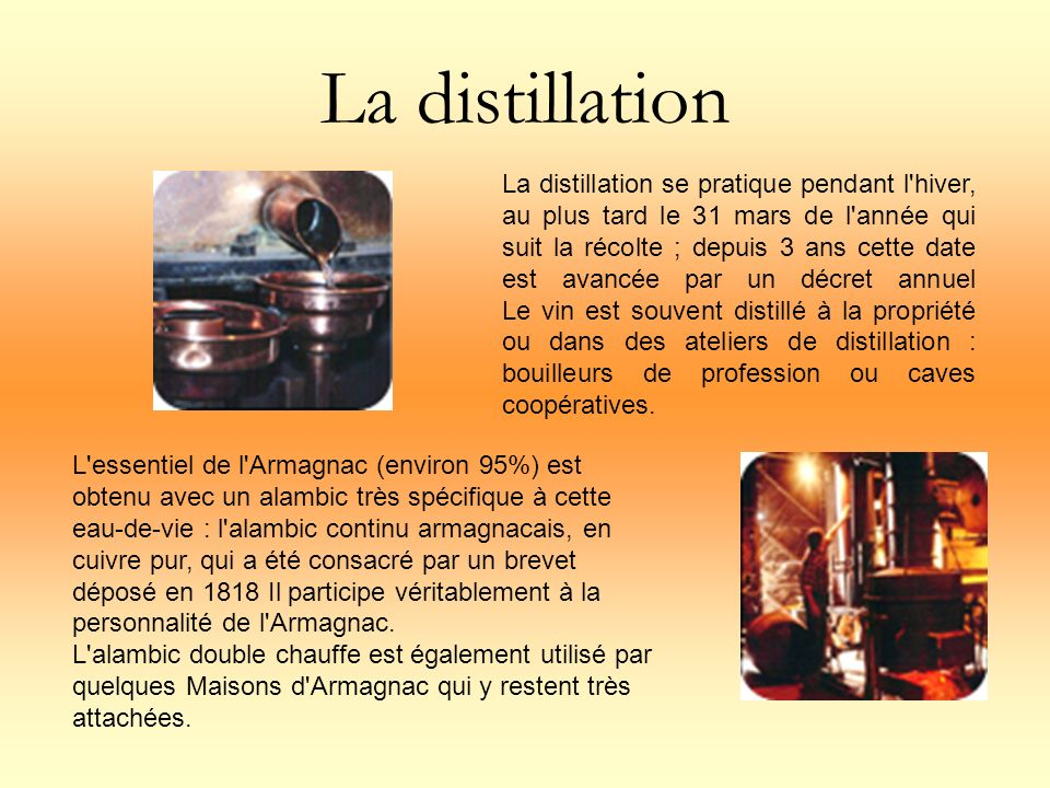 La distillation