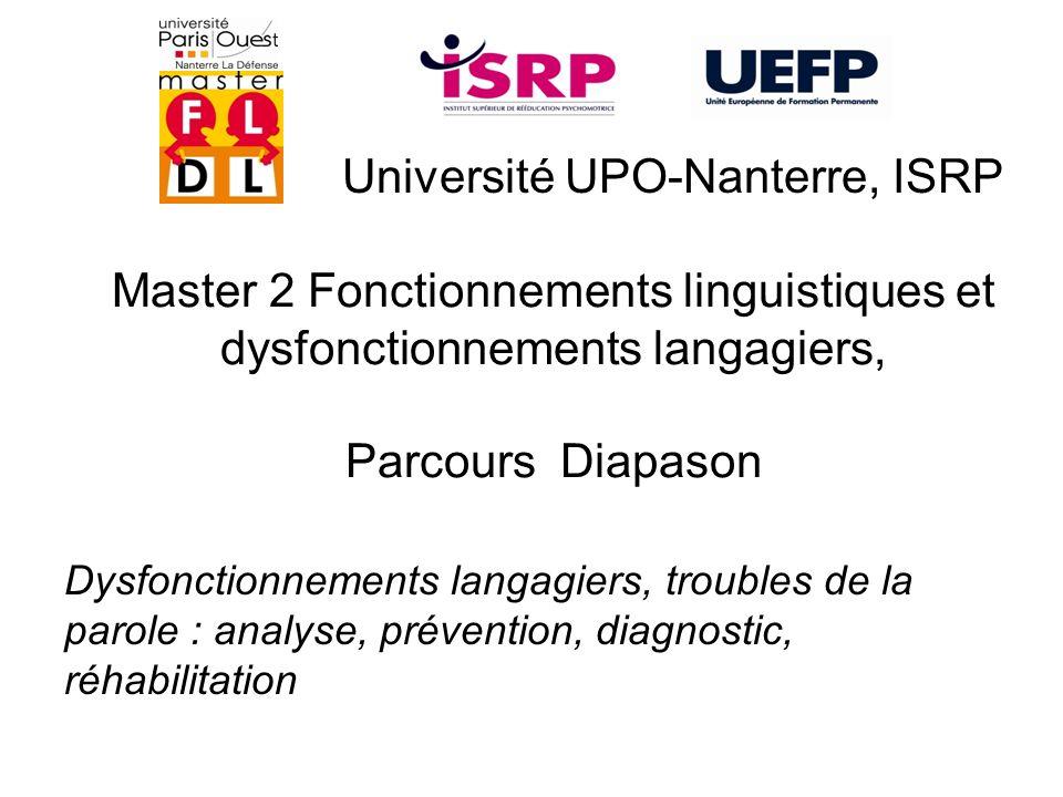 Université UPO-Nanterre, ISRP