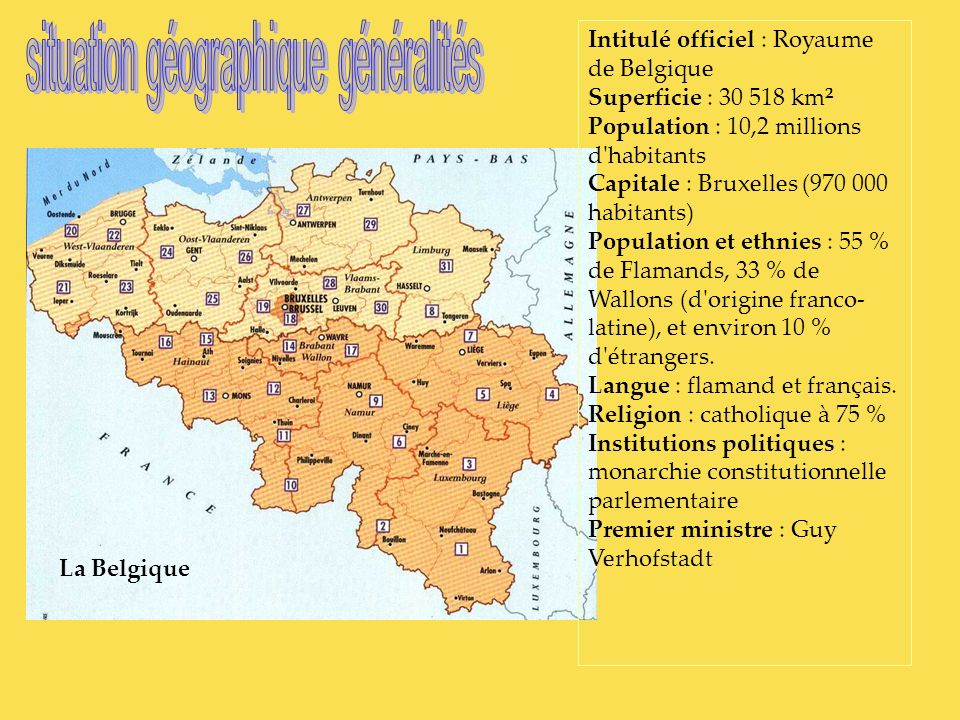 situation géographique généralités