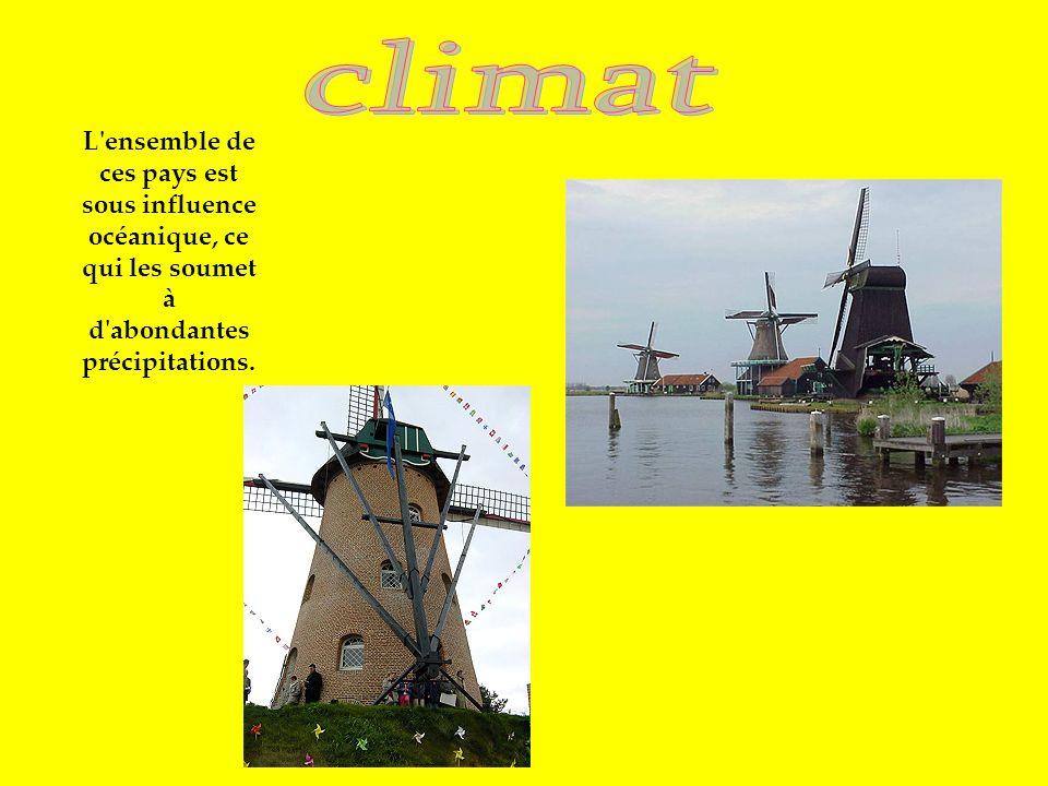 climat L ensemble de ces pays est sous influence océanique, ce qui les soumet à d abondantes précipitations.