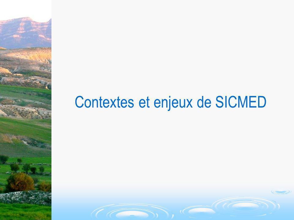 Contextes et enjeux de SICMED