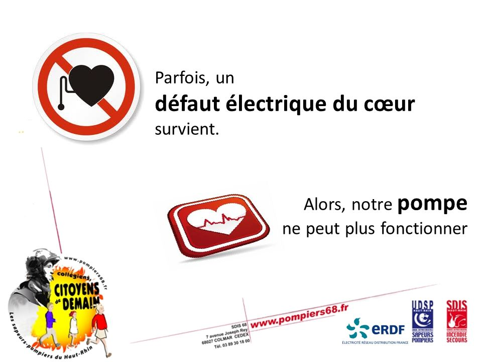 défaut électrique du cœur
