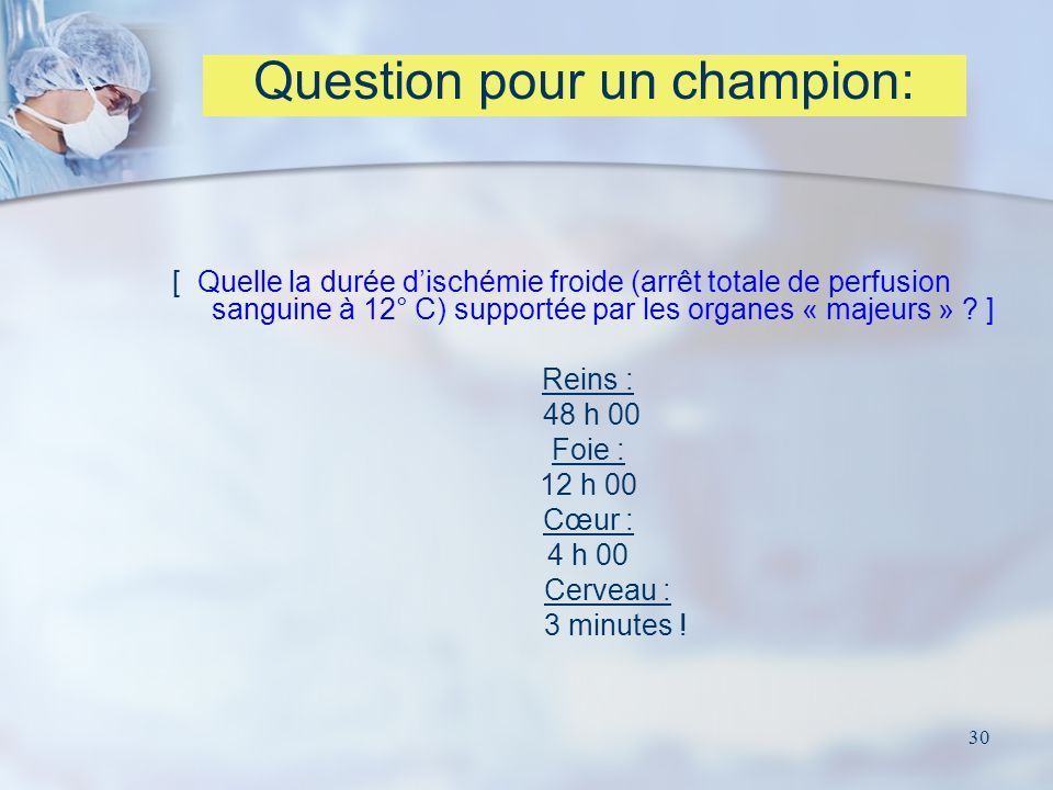 Question pour un champion: