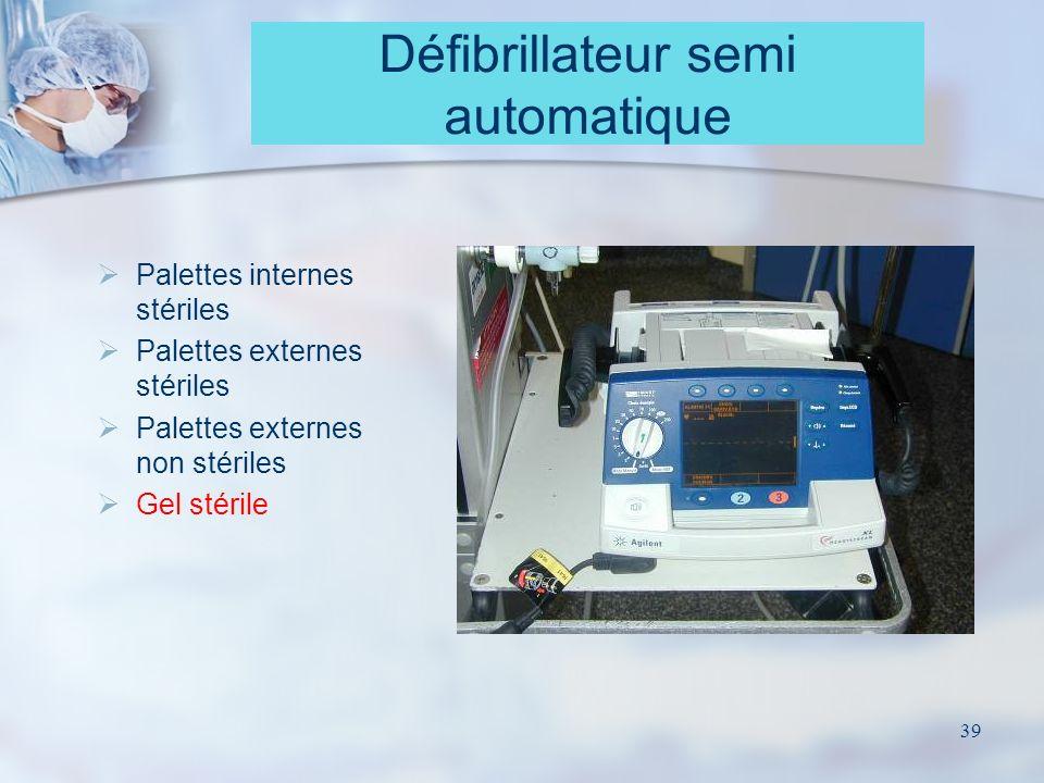 Défibrillateur semi automatique