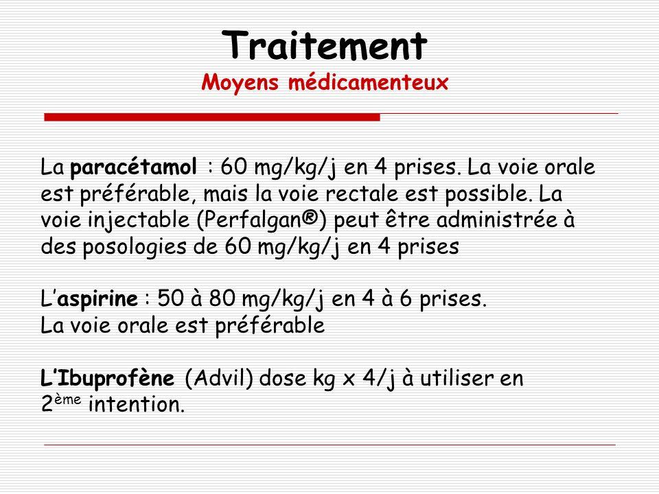 Traitement Moyens médicamenteux