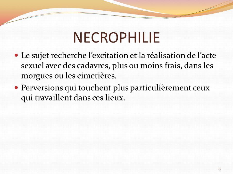 NECROPHILIE
