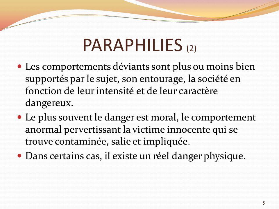 PARAPHILIES (2)