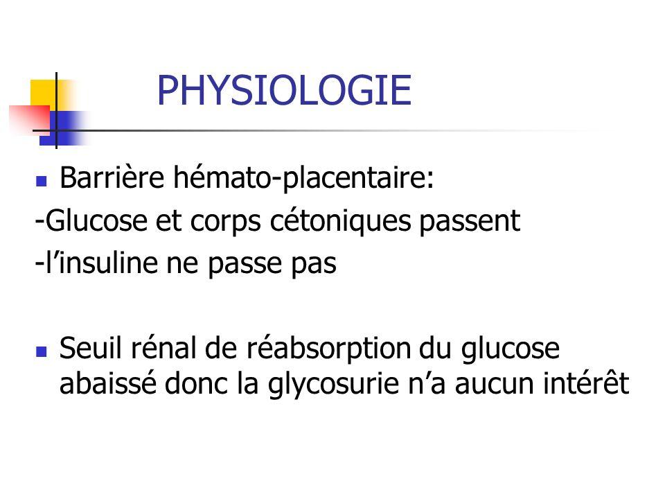 PHYSIOLOGIE Barrière hémato-placentaire: