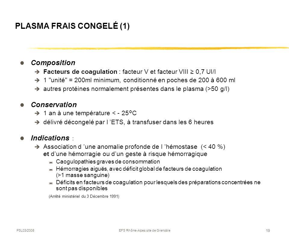PLASMA FRAIS CONGELÉ (1)