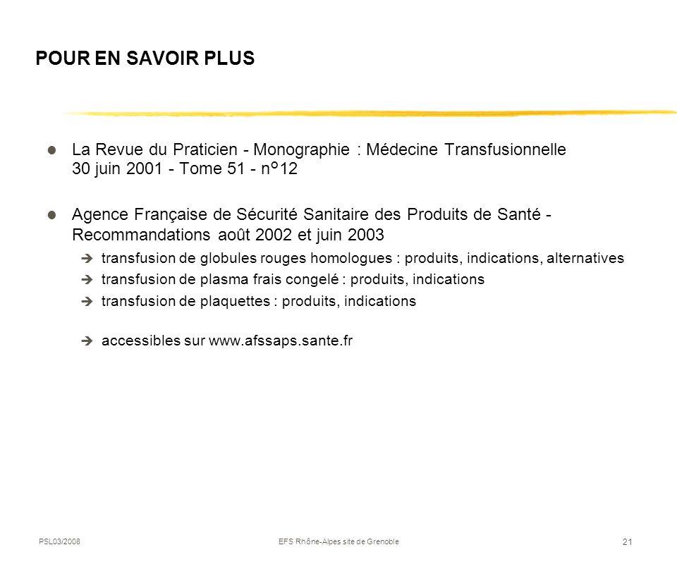 EFS Rhône-Alpes site de Grenoble