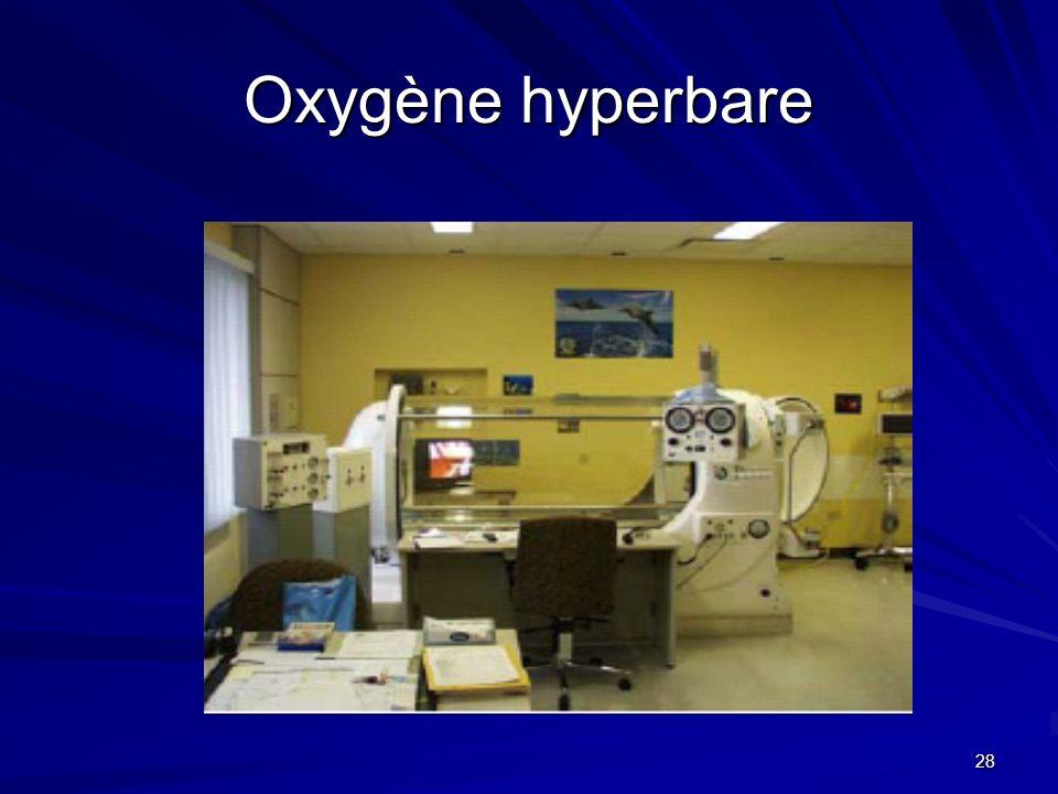 Oxygène hyperbare