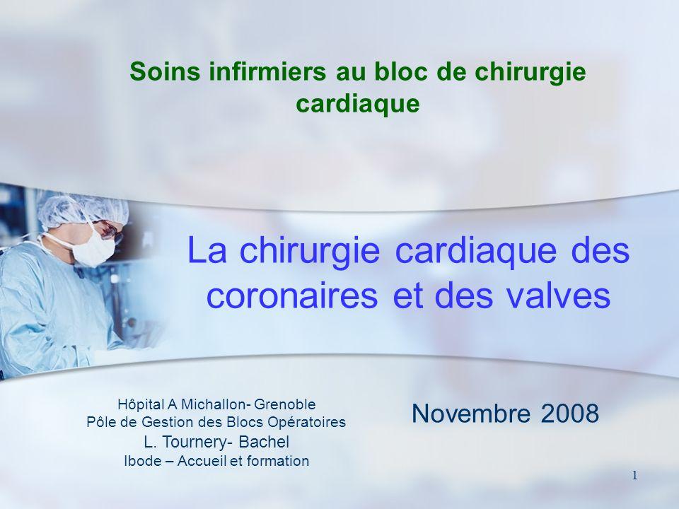 Soins infirmiers au bloc de chirurgie cardiaque