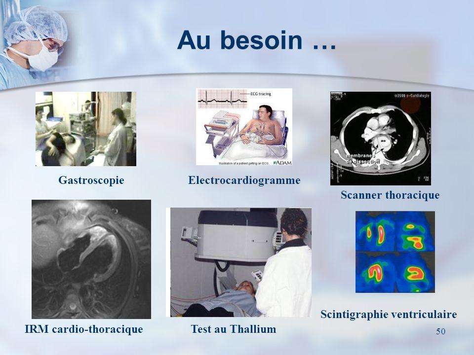 Scintigraphie ventriculaire IRM cardio-thoracique