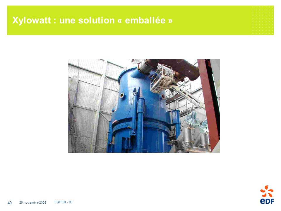 Xylowatt : une solution « emballée »