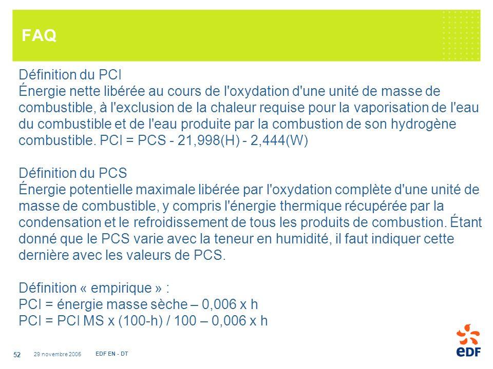 FAQ Définition du PCI.
