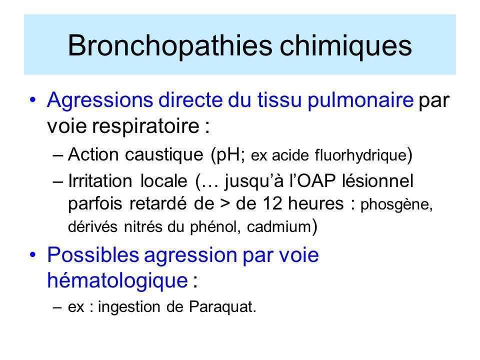 Bronchopathies chimiques