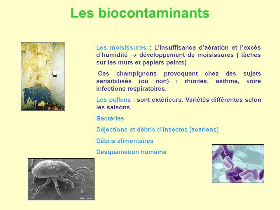 Les biocontaminants